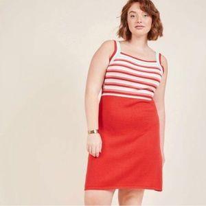 ModCloth | Right On Retro Knit Dress